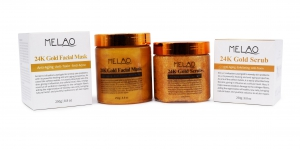 Body Perfect's Twin Pack Gold Mask & Scrub